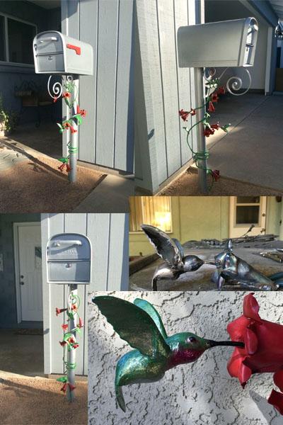 dhSeadragon M & J Hummingbird Mailbox